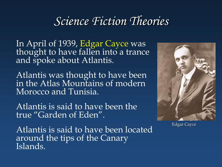 Science Fiction Theories