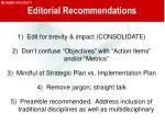 editorial recommendations