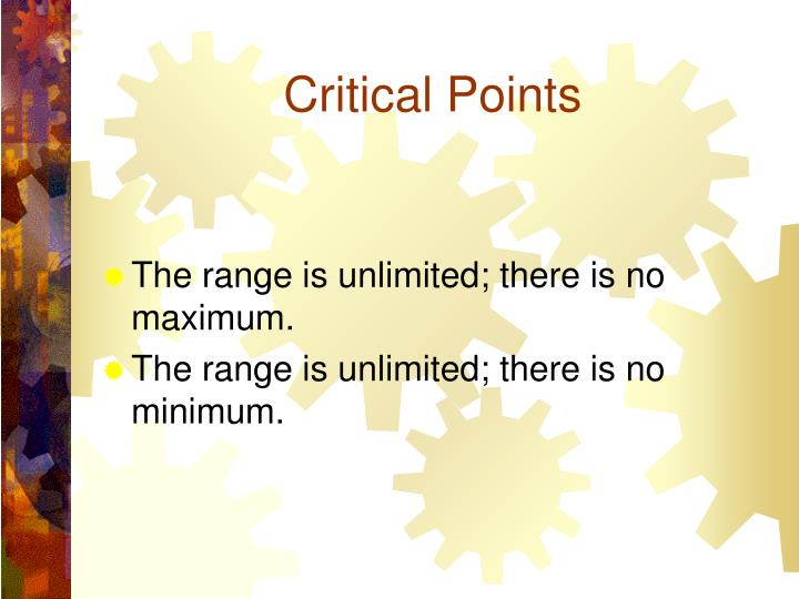 Critical Points