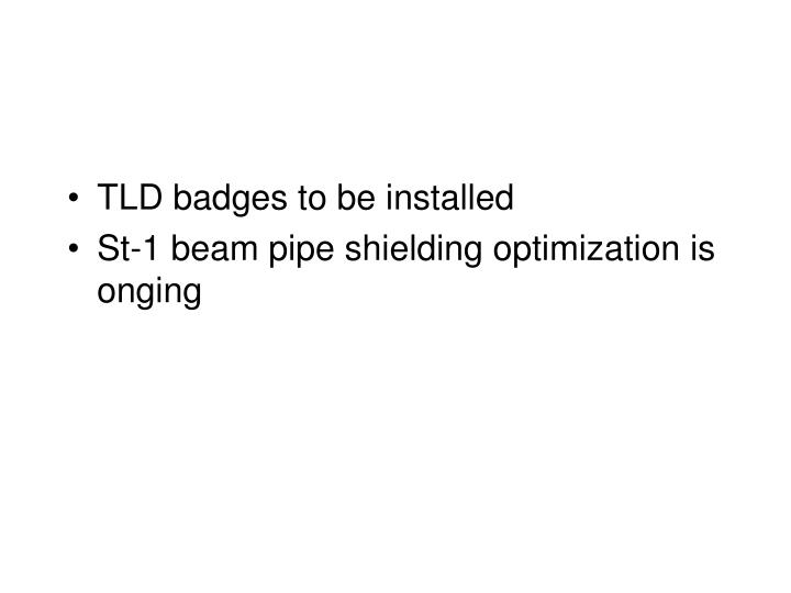 TLD badges to be installed