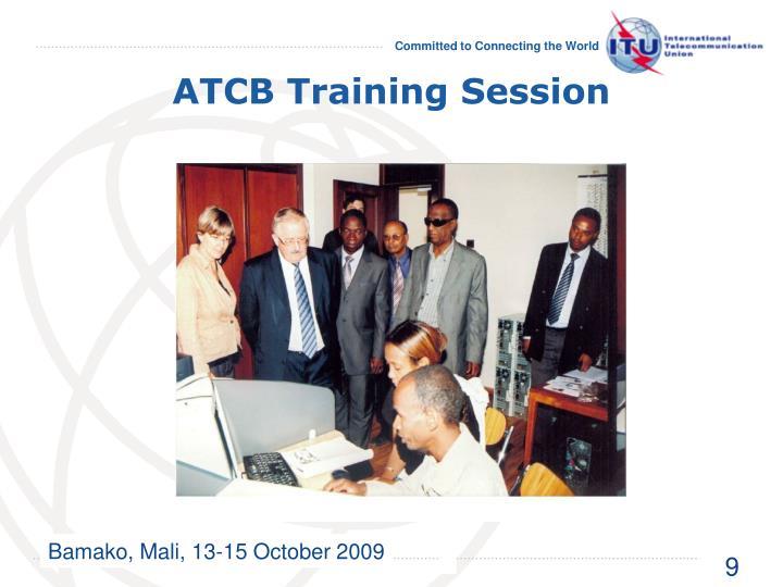 ATCB Training Session