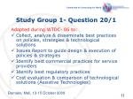 study group 1 question 20 1
