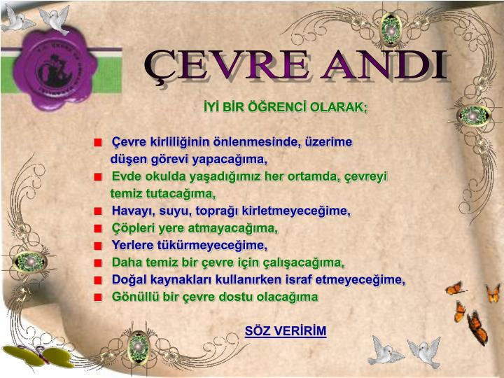 ÇEVRE ANDI
