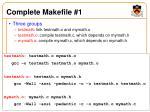 complete makefile 1