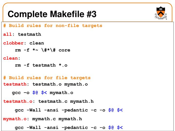 Complete Makefile #3
