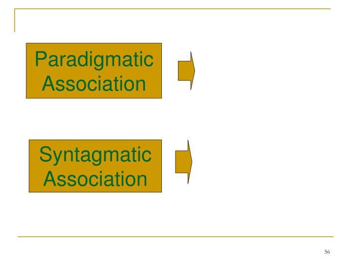 Paradigmatic
