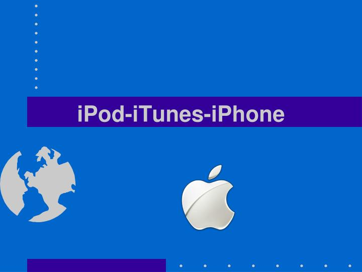 iPod-iTunes-iPhone