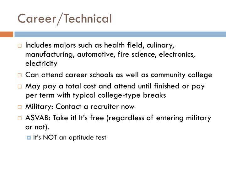Career/Technical