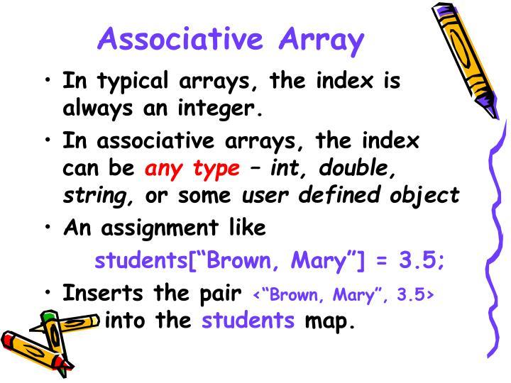 Associative Array