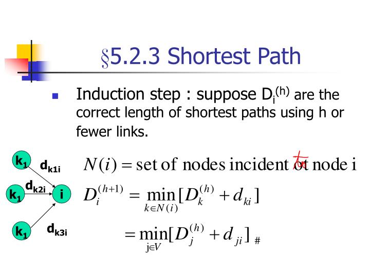 §5.2.3 Shortest Path