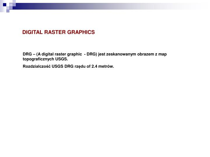 DIGITAL RASTER GRAPHICS