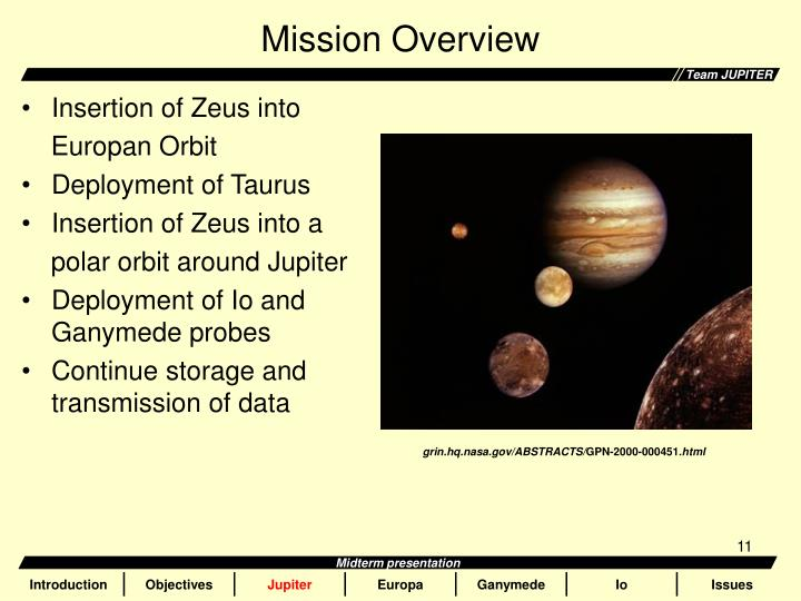 an overview of jupiter Jupiter is the largest planet in our solar system the four largest moons of jupiter are known as the galilean moons and are named callisto , ganymede , europa , and io  inside the orbits of the galilean moons are thebe , amalthea , adrastea , and metis.