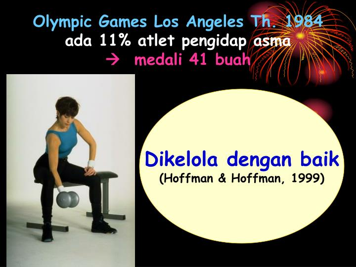 Olympic Games Los Angeles Th. 1984