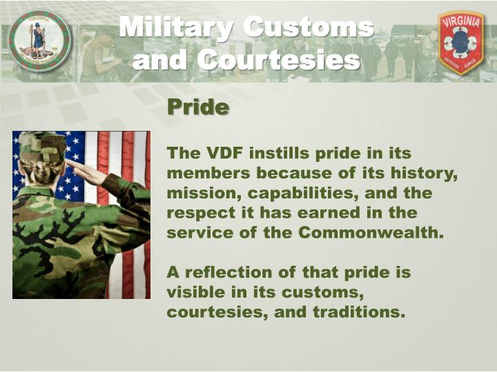 "military courtesy and respect essay Customs and courtesies: what to do  depicting the proper respect to  following ""to the color,"" or the national anthem, military members are required to."