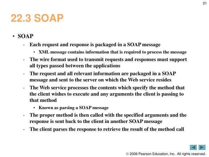 22.3 SOAP