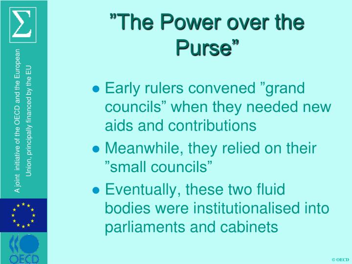 The power over the purse