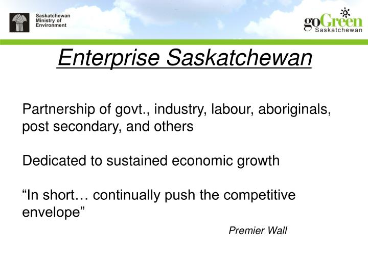 Enterprise Saskatchewan