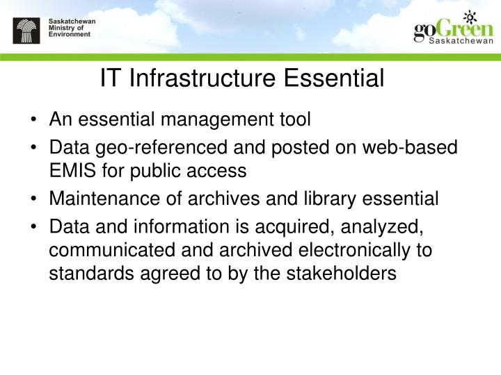 IT Infrastructure Essential