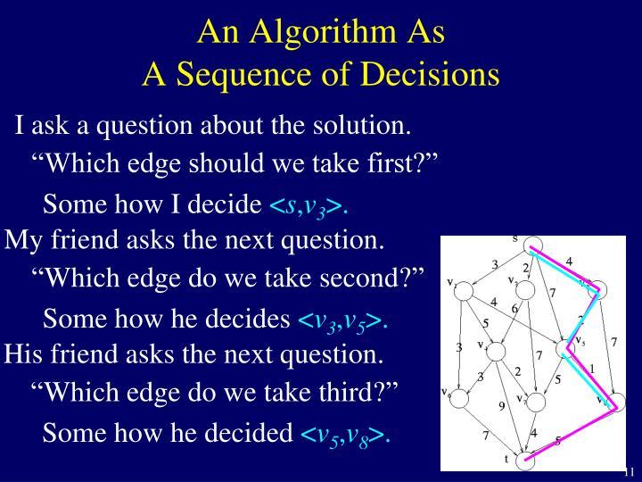 An Algorithm As