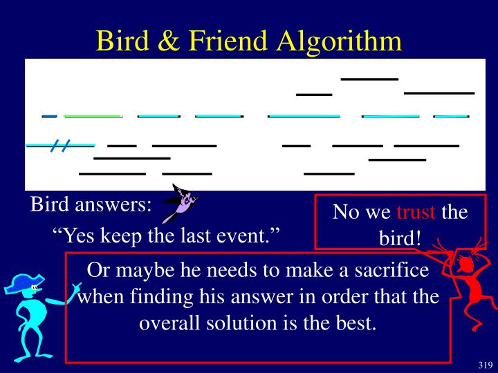 Bird answers: