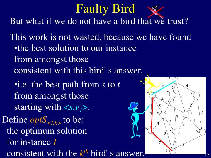 Faulty Bird