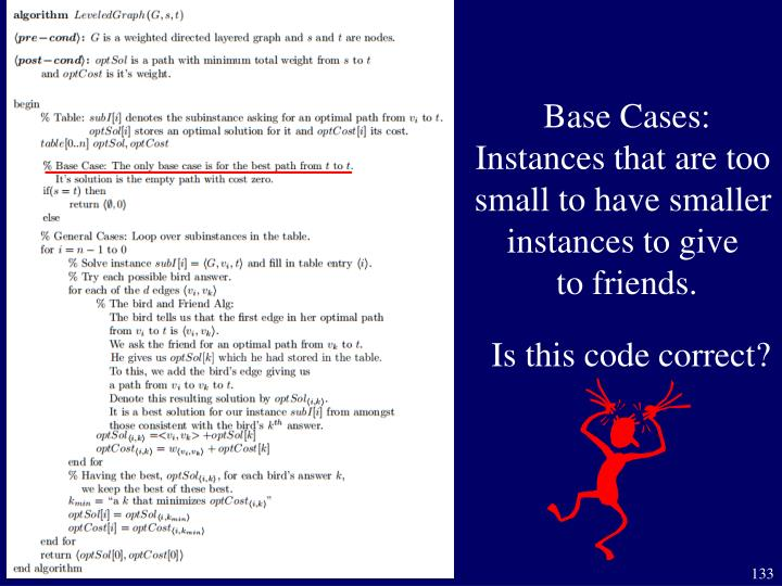 Base Cases: