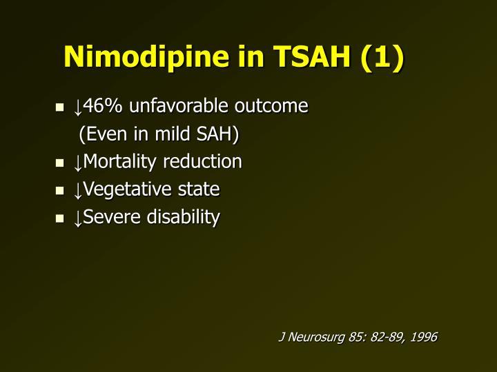Nimodipine in TSAH (1)