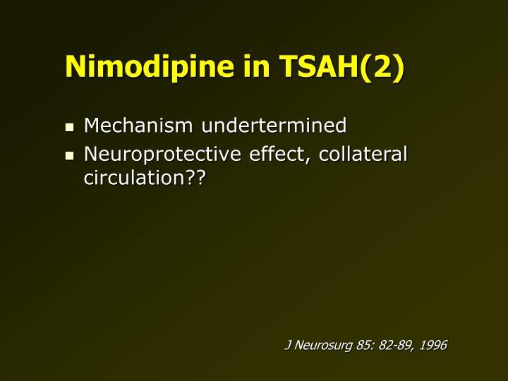 Nimodipine in TSAH(2)