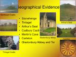 geographical evidence