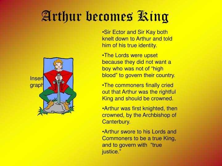 Arthur becomes King