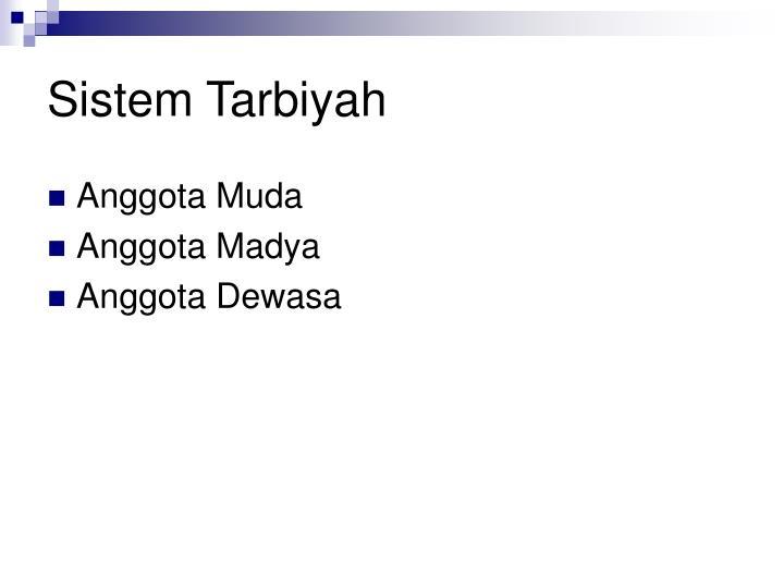 Sistem Tarbiyah