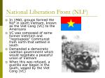 national liberation front nlf
