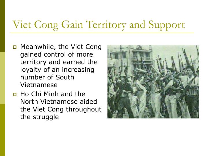 Viet Cong Gain Territory and Support