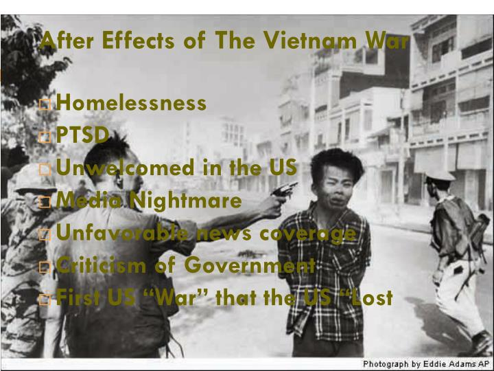 After Effects of The Vietnam War