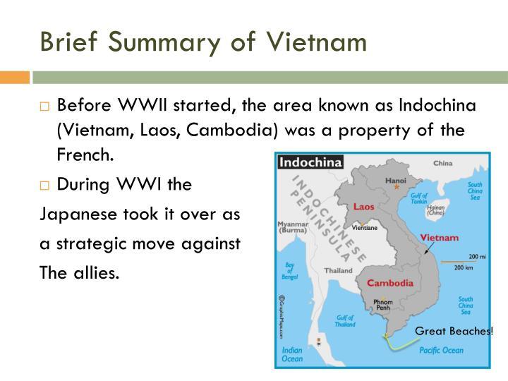 Brief Summary of Vietnam