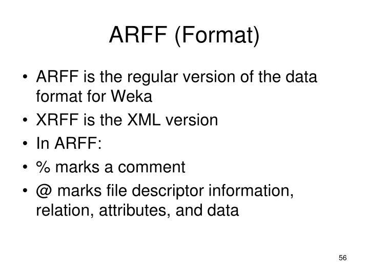 ARFF (Format)