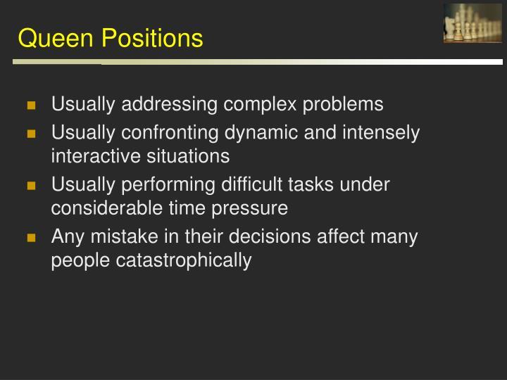 Queen Positions
