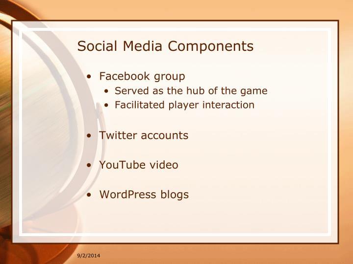 Social Media Components