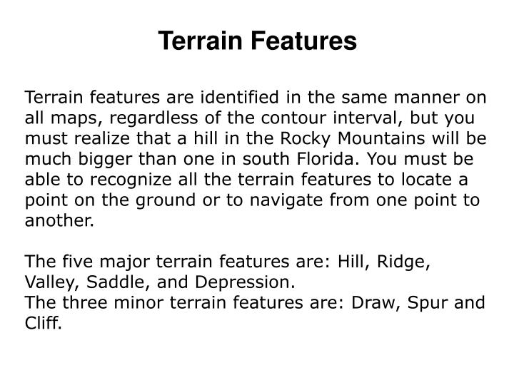 Terrain Features