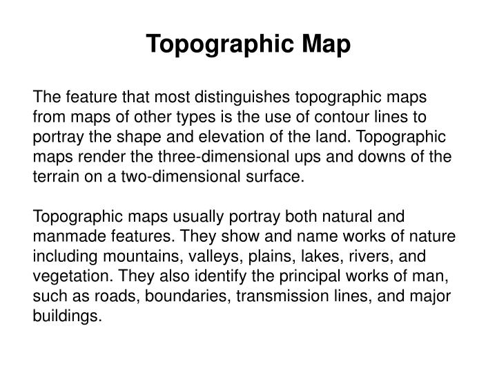 Topographic map1