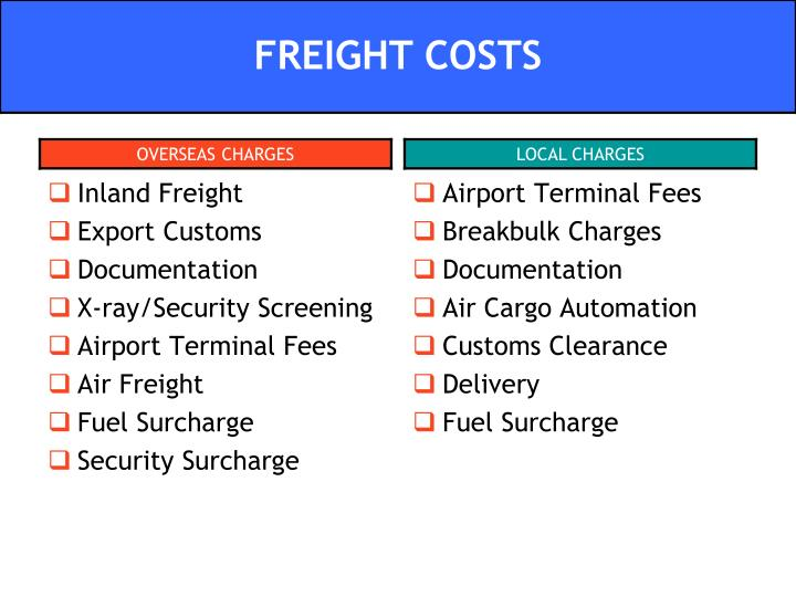 Inland Freight