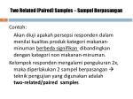 two related paired samples sampel berpasangan1
