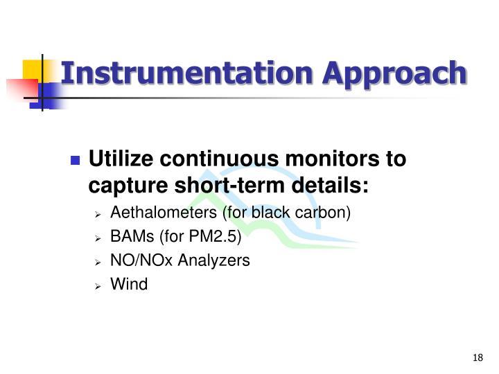 Instrumentation Approach