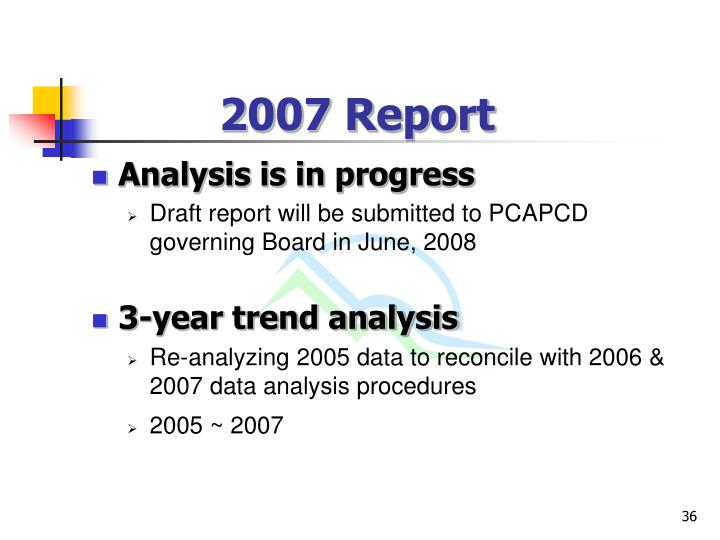 2007 Report