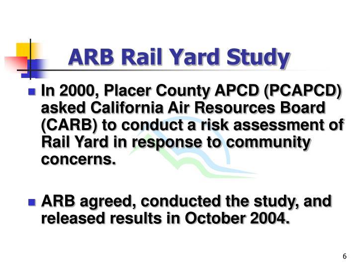ARB Rail Yard Study