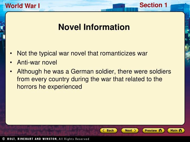 Novel Information
