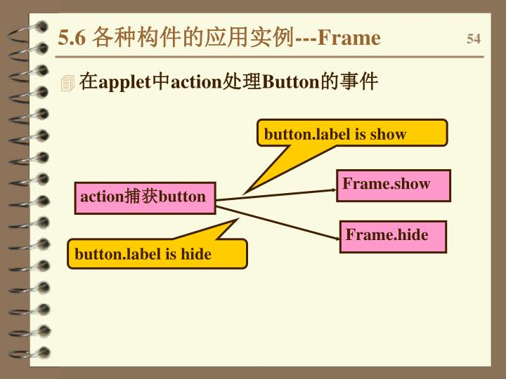 button.label is show