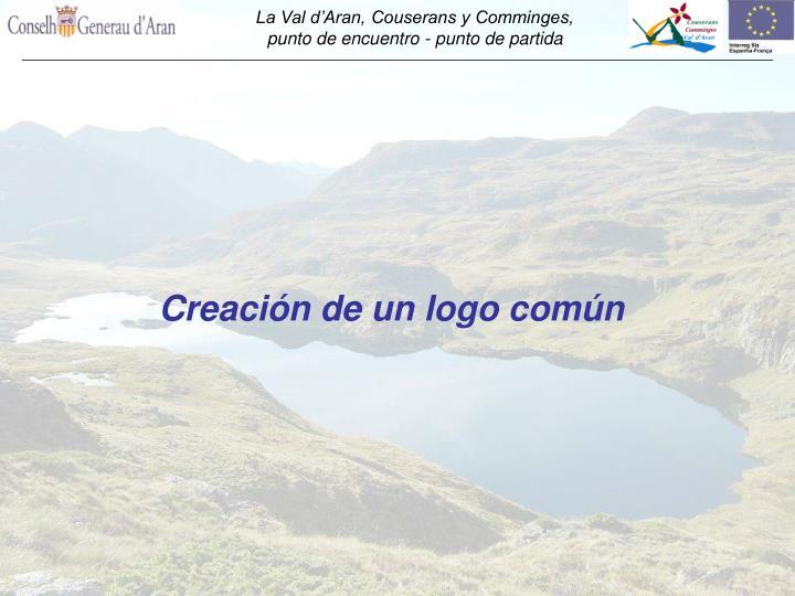 Creación de un logo común
