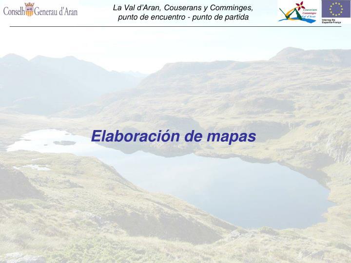 Elaboración de mapas