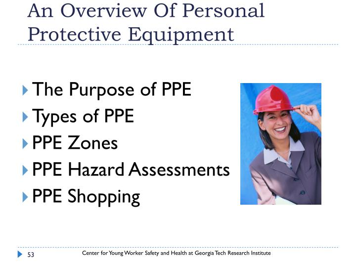 An Overview Of Personal Protective Equipment